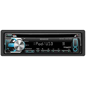 Kenwood KDC-355U Car Stereo MP3/CD Receiver With Pandora Internet Radio - Front USB Port - SiriusXM Ready - Aux Input - Made For iPhone/iPod