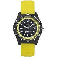 Relógio Nautica Masculino Borracha Amarela - NAPIBZ003