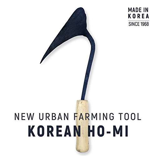 Ames Action Hoe (Youngju_Daejanggan, Premium Hand Plow Hoe - Korean Style Ho-Mi with Handmade Production Method for Best Organic Gardening and Horticulture)