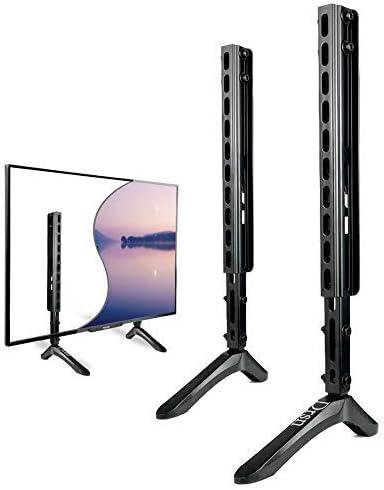 Drsn Soporte de TV patas TV Base Pedestal Flat TV Soporte de pared 2 en 1, VESA dentro de 800550 mm para TV de 30 a 65 pulgadas, Vizio Samsung LG TCL