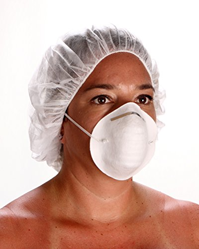 Surgical Medical Dental Industrial Face Masks Cone Style Whi