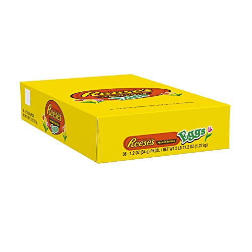 Reese's Easter Chocolate Candy Peanut Butter Egg, 1.2-Ounce Packages (Pack of 36) by Reese's (Image #7)