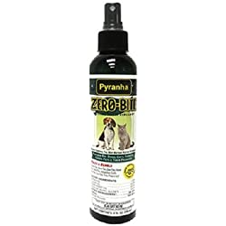 Pyranha Zero-Bite Natural Insect Repellent for Pets. Fights Insects on All Pets!