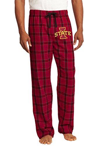 Broad Bay Iowa State Pajamas or ISU Cyclones Lounge Pants Bottoms for MEN or WOMEN -