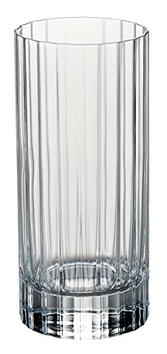 Luigi Bormioli 10824/02 Bach 16.25 oz Beverage Drinking Glasses, 16-1/4-Ounce, Clear