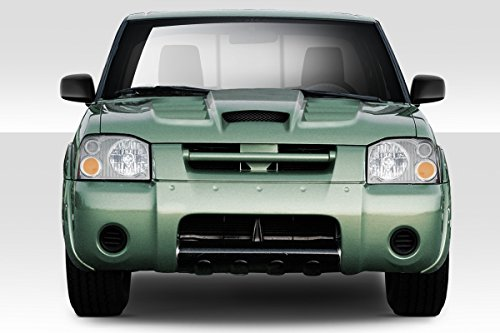 Nissan Frontier Hood Replacement - Duraflex ED-JEL-347 Viper Look Hood - 1 Piece Body Kit - Compatible For Nissan Frontier 2001-2004