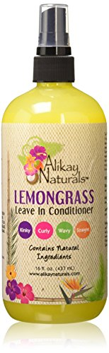 Alikay Naturals - Lemongrass Leave-In Conditioner 16 oz (Best Moisturizer For 4a Hair)