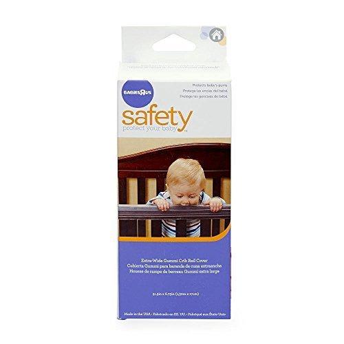 Babies R Us Extra Wide Gummi Crib Teething Rail Cover