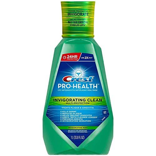 Crest Pro-health Invigorating Clean Multi Protection Mint Oral Rinse - 1ltr