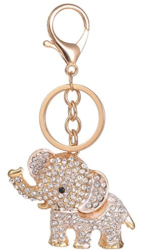 (Giftale Elephant Handbag Charms Accessories Purse Keychain for Women,#4182A)
