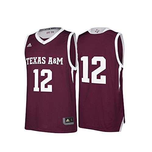 (NCAA Texas A&M Aggies Replica Jersey, XX-Large, Maroon)