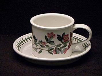 Portmeirion Botanic Garden Breakfast Cup & Saucer Drum Rhododendron