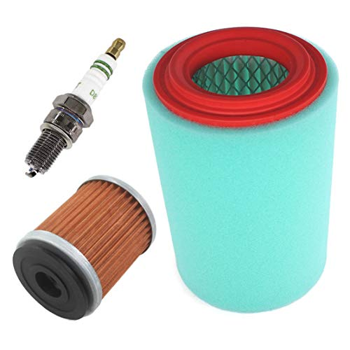 USPEEDA Oil Air Filter Spark Plug for Yamaha Big Bear 250 400 Bear Tracker 250 Bruin 250 Replace 1P0-E4450-00-00 4XE-E4450-00-00