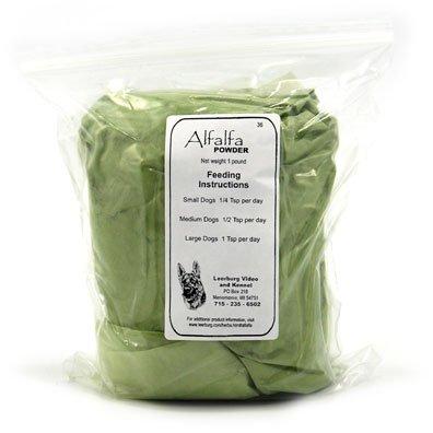 Alfalfa Leaf Powder -Medicago sativa, 1 lb,