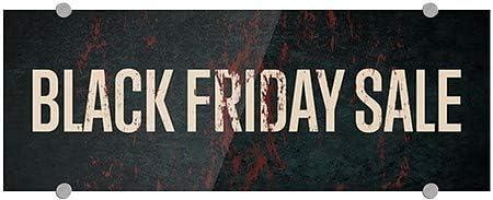 CGSignLab Black Friday Sale 8x3 Ghost Aged Rust Premium Acrylic Sign 5-Pack
