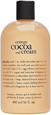 Philosophy Orange Cocoa 16.0 oz Shampoo, Shower Gel & Bubble Bath