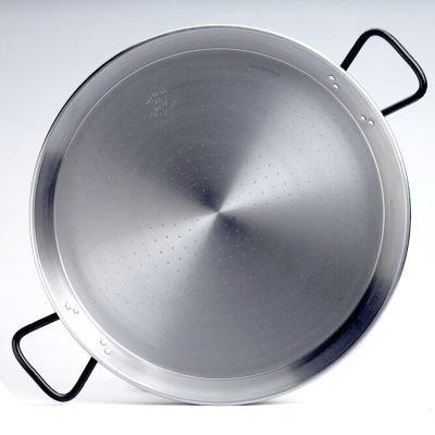 Garcima 22-inch Pata Negra Restaurant Grade Paella Pan, 55cm by La Paella