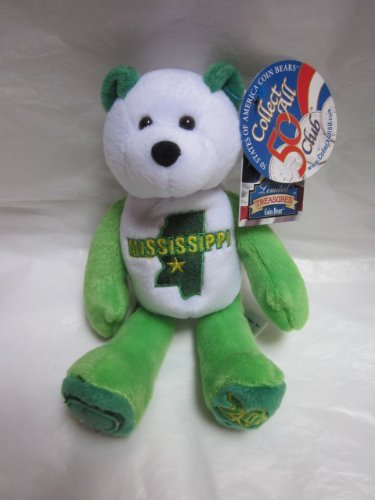 1 X 50 States of America Coin Bears: Mississippi 20th State 8