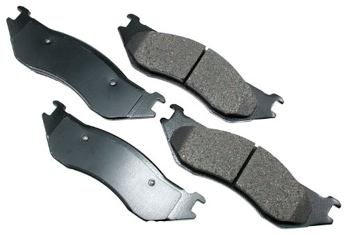 (Akebono ACT966 ProACT Ultra-Premium Ceramic Front Brake Pad Set For 2003-2006 Dodge Durango, Ram 1500 Pickup, Ram 1500 Van)