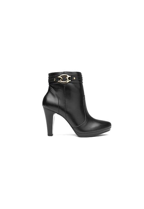 b8e29eb120ac1 Flexi Botín Negro Bota para Mujer  Amazon.com.mx  Ropa, Zapatos y ...