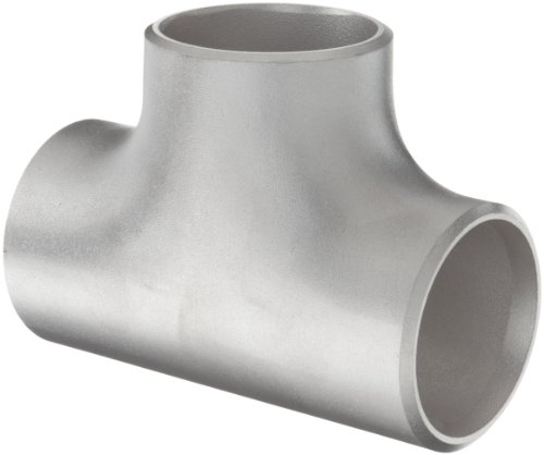 Stainless Steel 304/304L Butt-Weld Pipe Fitting, Tee, Schedule 40, 2