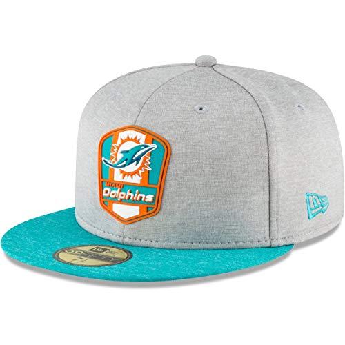 謝罪する特徴づける思いやりニューエラ (New Era) 59フィフティ キャップ - サイドライン Away マイアミドルフィンズ (Miami Dolphins)