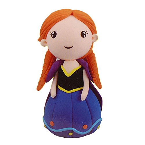 OVI Colorful Kids Ultra Light Modeling Clay Magic Air Dry Clay Artist Studio Toy,No-Toxic Modeling Clay, Anne Princess Music Box DIY - Box Music Anne