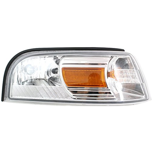 Corner Light compatible with Mercury Grand Marquis 06-11 Corner Lamp RH Assembly Park/Signal/Side Marker Lamp Right Side