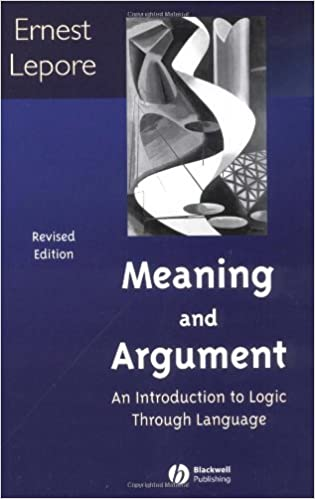 logic and argument in philosophy