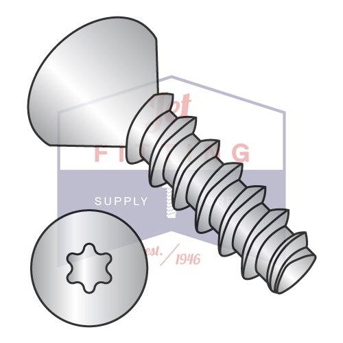 #4 x 3/8'' Plastite Style Thread Forming Screws / Six-Lobe (Torx) / Flat Head / 18-8 Stainless Steel (QUANTITY: 5,000 pcs)
