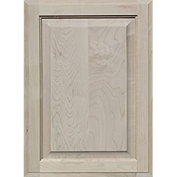 Unfinished Maple Cabinet Door, Square with Raised Panel by Kendor ...