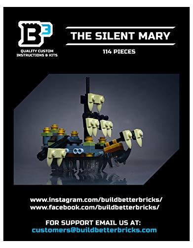 LEGO Custom Mini Silent Mary Pirate Ship -