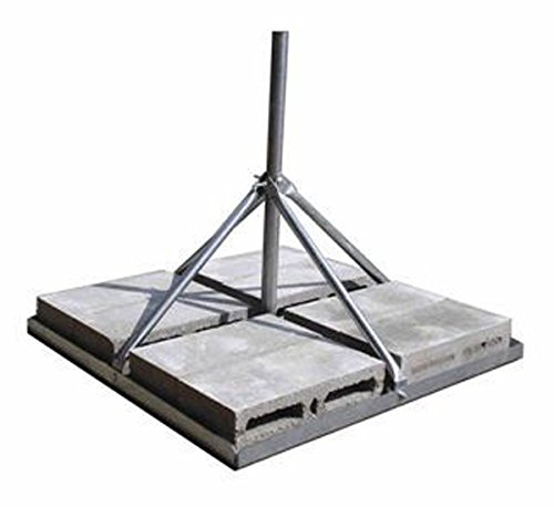 Roof Wall (ROHN FRM238 Non-Penetrating Roof Mount with 2.38