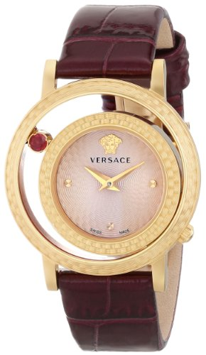 Versace Women's VDA020014 Venus Analog Display Quartz Purple Watch