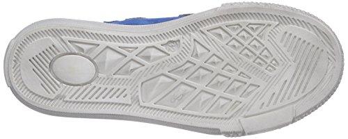 Richter Kinderschuhe Mose  6247-521 - zapatillas deportivas altas de cuero niño azul - Blau (lagoon/rock  6911)