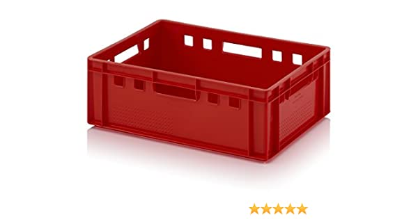 Caja de carne E2 60 x 40 x 20 Metzger Caja Euro Carne Caja Color ...