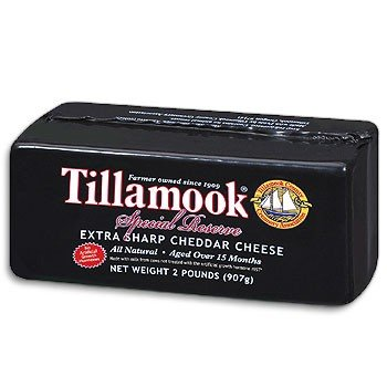 Tillamook Vintage Extra-Sharp Cheddar Cheese 2lb. (Extra Sharp Cheese compare prices)
