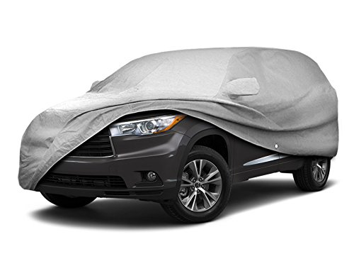 2008-2018 Toyota Highlander SUV Car Cover Heavy Duty All Weatherproof Ultrashield ()
