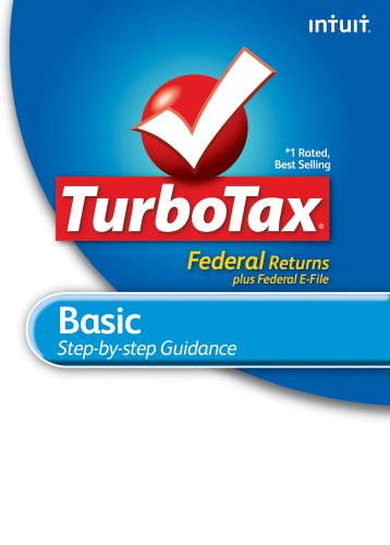 TurboTax Basic Federal + e-File 2010 for Mac [Download] [OLD VERSION] by Intuit