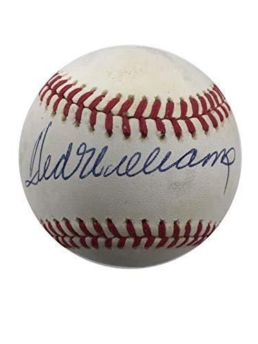 Ted Williams Signed Ball - ONL Beckett BAS B15) - Beckett Authentication - Autographed Baseballs