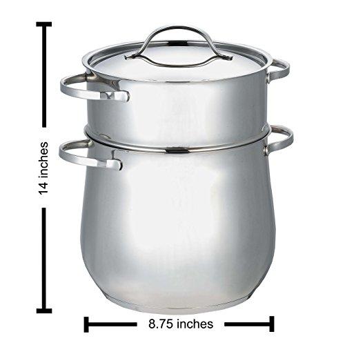 Cuisinox Gourmet 16 Quart Couscous Cooker Pot Buy Online