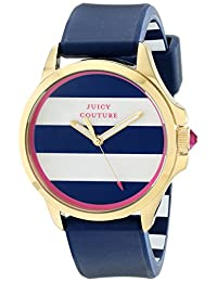Juicy Couture Women's 1901222 Jetsetter Analog Display Quartz Blue Watch