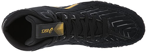 cheap prices reliable free shipping factory outlet ASICS Men's Aggressor 3 Wrestling Shoe Black/Rich Gold free shipping official site shopping online free shipping discount pay with paypal wMzh823r