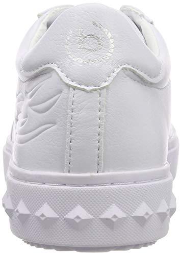 Donna white Bianco Scarpe Ginnastica Basse 11 Bugatti 2000 Da 32636e 4 UwARnq0g