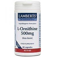 Lamberts L-Ornithine 500mg QTY 60 Capsules