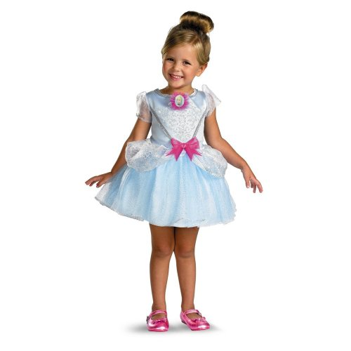 Cinderella  Ballerina Classic Size: M (3T-4T) (Ballerina Princess Toddler And Girls Costume)
