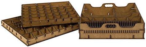 Docsmagic.de Organizer Insert for Gloomhaven Box: Amazon.co.uk: Toys & Games