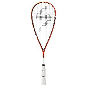 Salming Cannone Feather Squash Racquet (Orange/White)
