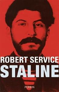 Staline par Robert Service