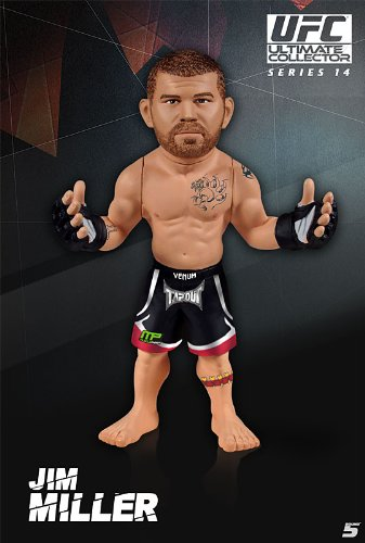 Round 5 UFC Ultimate Collector Series 14.5 LIMITED EDITION Action Figure Jim Miller
